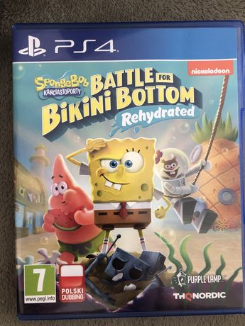 Gra Sponge Bob Bikini Bottom ps4