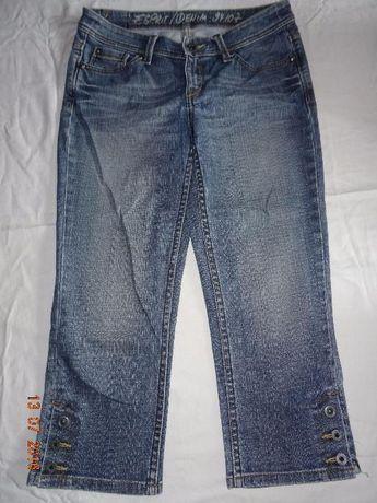 spodnie rybaczki jeans roz 42 esprint