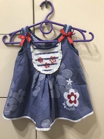 Платье тм бемби р.68см