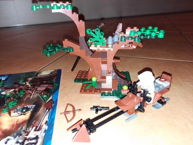 Lego 7956 star wars atak ewoków ewok instrukcja