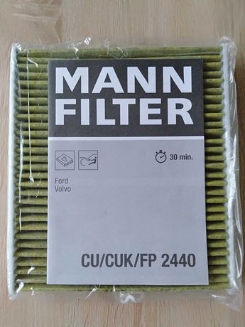 Filtr kabinowy MANN Anty-Smog Polifenol FP2440 Ford Volvo