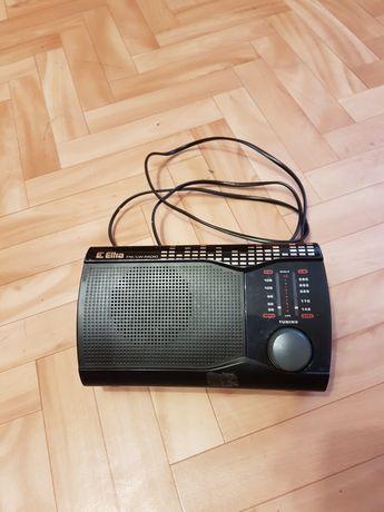 Radio Eltra czarne  mini Jack na baterie model 0201