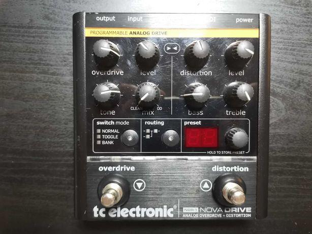 TC Nova Drive NDR-1 Analogowy Overdrive Distortion (Ibanez TS9 Rat)