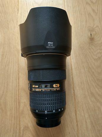 Obiektyw AF-S Nikkor 24-70 mm f/2.8G ED