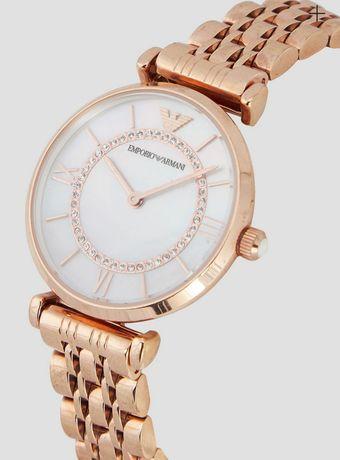 Часы Emporio Armani Classic Wrist Watch for Women- Rose Gold
