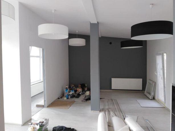 Gładzie malowanie malarz  montaz paneli remont pokoju kafelkowanie