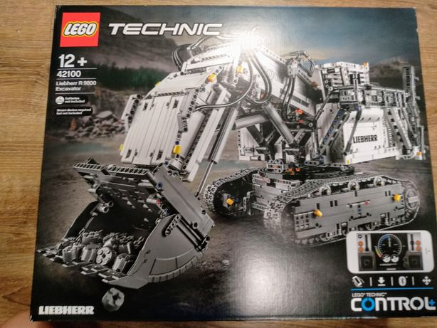 LEGO Technic 42100 - koparka Liebherr