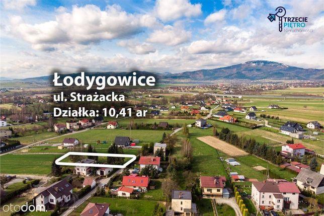 Widokowa Działka w Łodygowicach