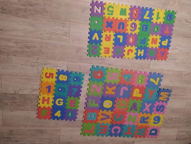 Puzzle piankowe 3 rodzaje.