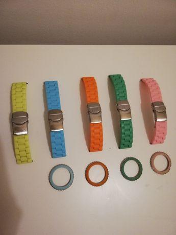 Eletta, braceletes e aros