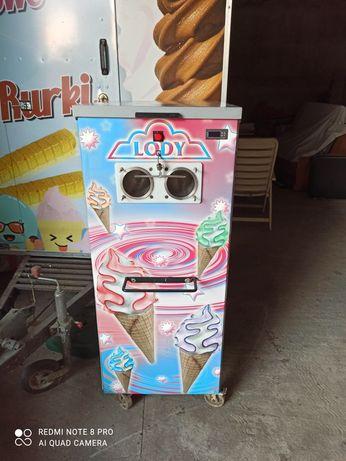Maszyna do lodów włoskich, zadbana, serwisowana