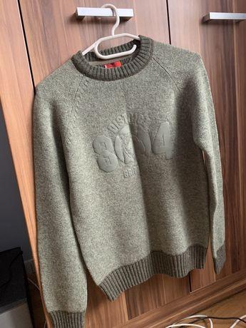 """LEVIS sweter męski, owcza wełna """"lambswool"""", rozmiar S"""