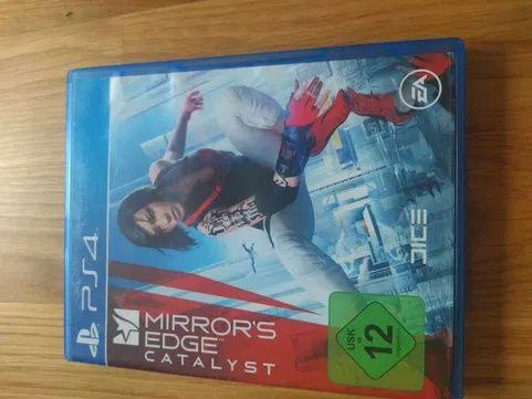 Gra na PS4 ,,mirror's edge catalyst""