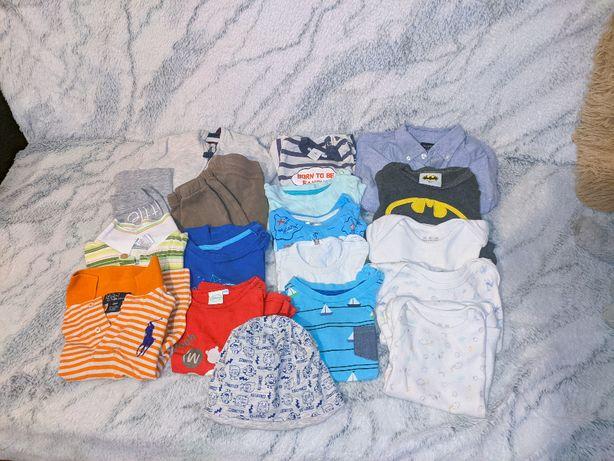Ubranka dziecięce 17 szt. rozmiar 80