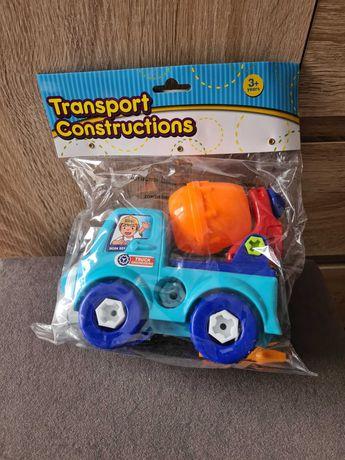 pojazd budowlany dla dzieci 15cm