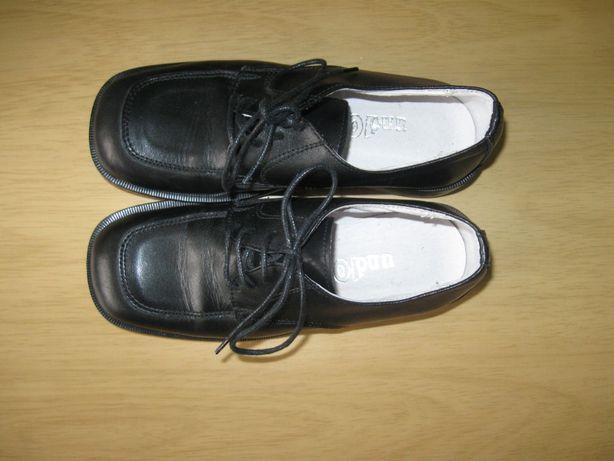 Итальянские кожаные туфли на мальчика, р.31