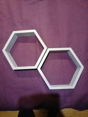 Półka plaster miodu Heksagon
