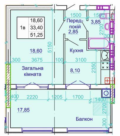Центр, ул.Шевченка,96а, 1к.квартира