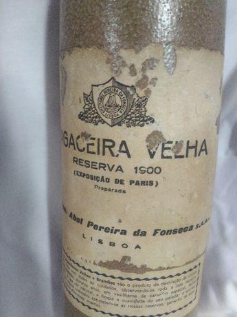 Garrafa metalica - bagaceira velha - Abel Pereira da Fonseca ( 1900 )