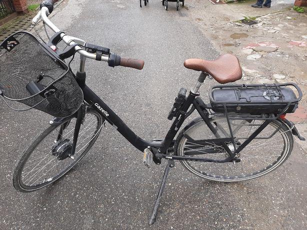 Rower elektryczny gazella c7