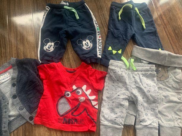 Paczka ubrań dla dziecka  od urodzenia do roku - Ok 80 sztuk ubranek