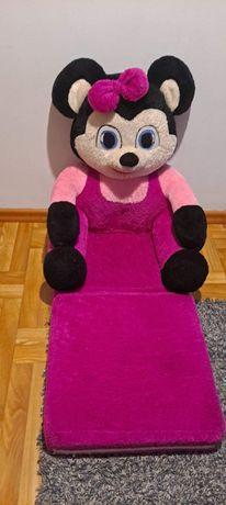 Fotelik /pufa dziecięca myszka stan bardzo dobry