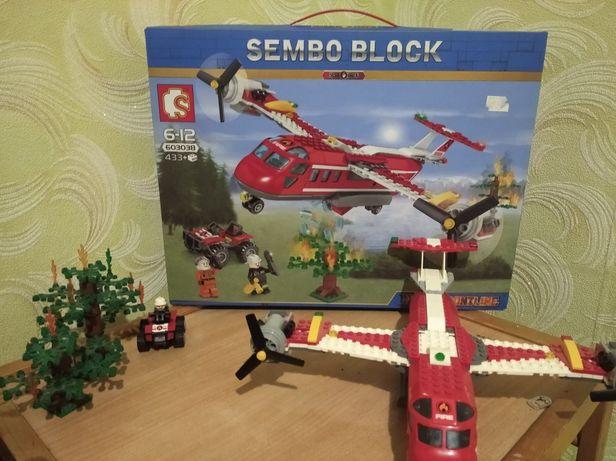 Лего набор Пожарный самолёт