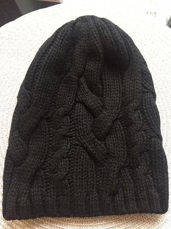 Premium czapka czarna MLE, wełna