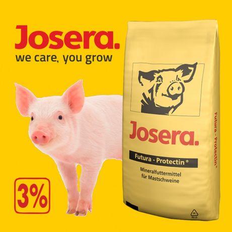 Премікс Йозера (Німеччина) для свиней 3-2,5% відгодівля