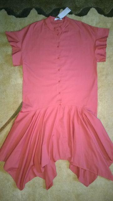 СУПЕРтрендовое платье -рубашка MANGO 50-52 размер