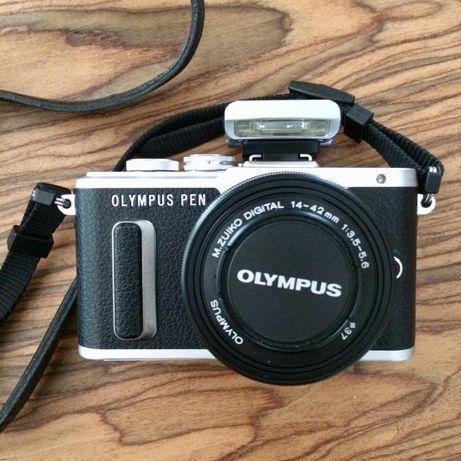 Aparat cyfrowy Olympus PEN E-PL8 + ob. 14-42 EZ + karta pamięci 32 GB