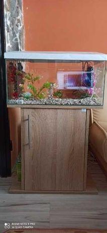 Akwarium z szafką