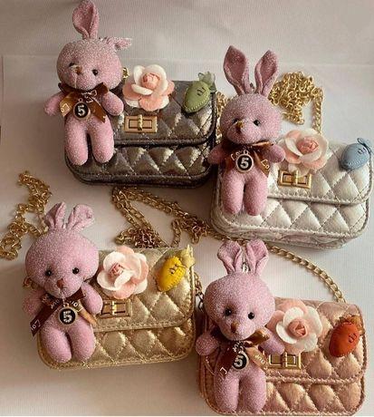 Детские сумочки с кроликом