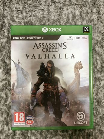 Assassins Creed Valhalla PL, Xbox one/Series S,X.