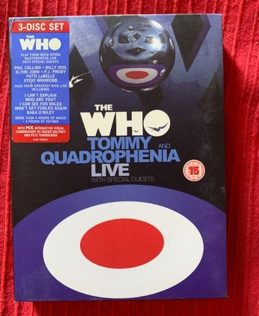 The Who DVD Tommy and Quadrophenia Live