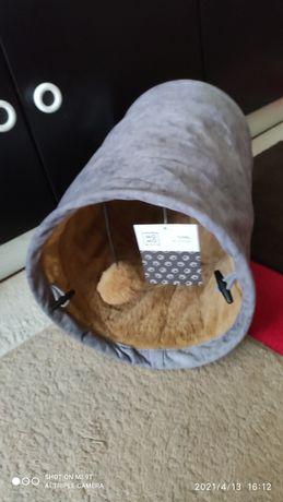 Tunel zabawka dla kota , szeleszczący