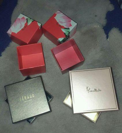 Коробки от ювелирного бренда Pomellato и Feraudo