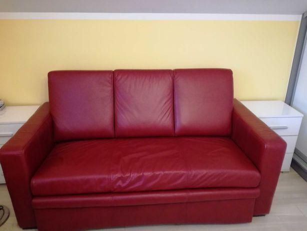 Kanapa, sofa trzyosobowa skóra