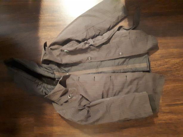 Oddam dziewczęcą kurtkę płaszczyk 2in1 140