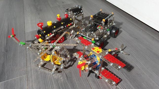 4 modele metalowe - środki transportu