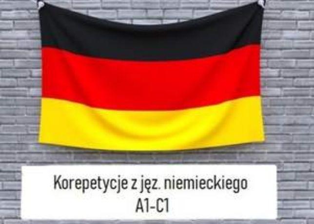 Korepetycje języka niemieckiego, od podstaw do zaawansowanego,.