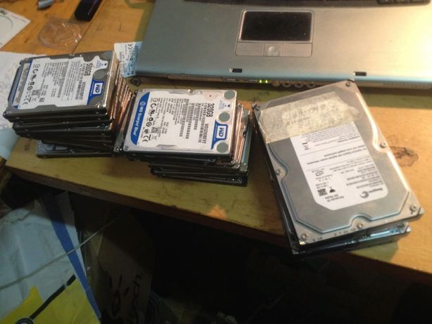 жесткие диски 2.5 3 дюйма убитые