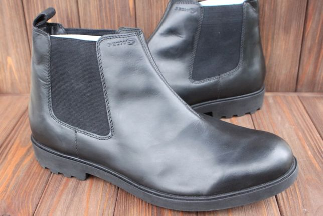 Новые ботинки Geox кожа Италия 45р челси