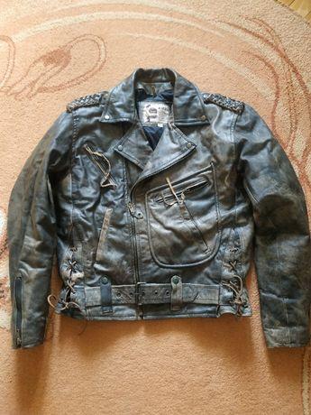 Шкіряна куртка-косуха A.M.I