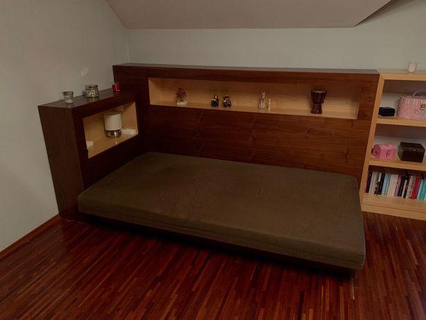 Łóżko z materacem, tapczan z zabudową robione na zamówienie