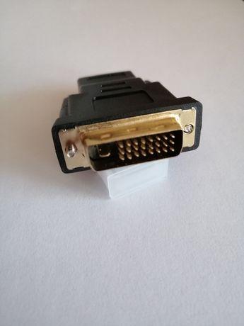 Przejściówka HDMI - DVI adapter złączka
