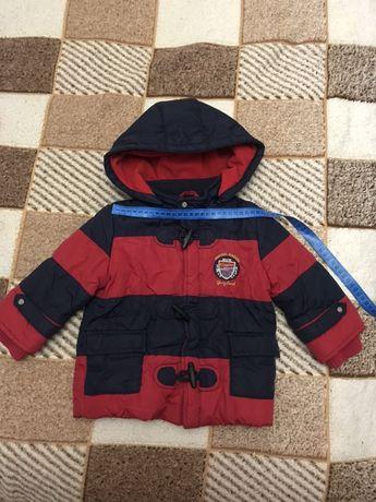 Куртка  курточка еврозима демисезон на 1-2 года мальчику еврозима