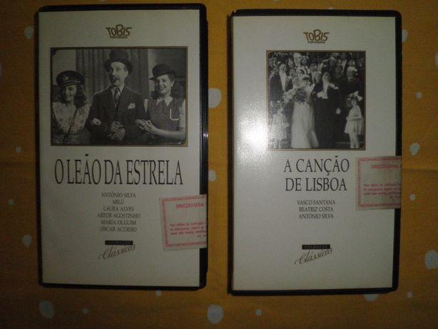 Filmes VHS de cinema português (2 unid.)