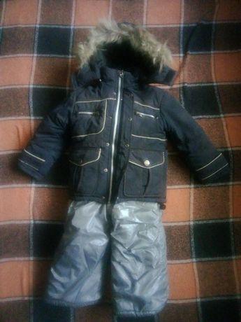 Куртка зимняя, Пуховик на 2-4 года