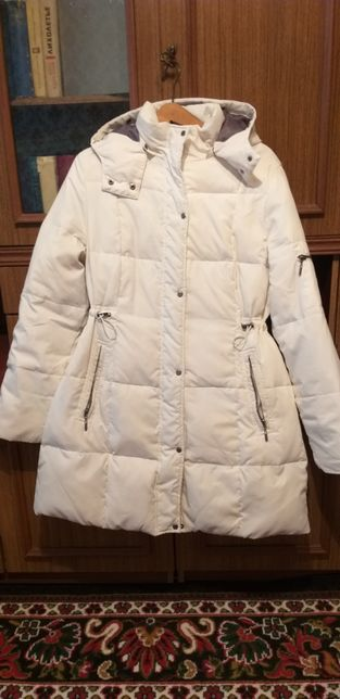 Зимнее пальто на гусином пере